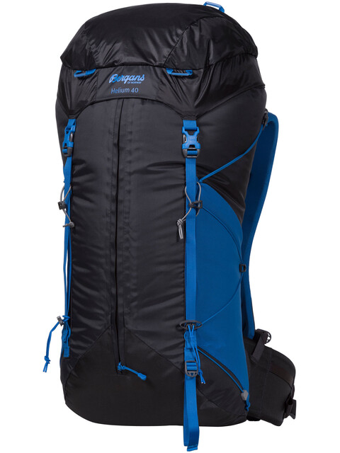 Bergans Helium 40 Solid Charcoal/Athens Blue